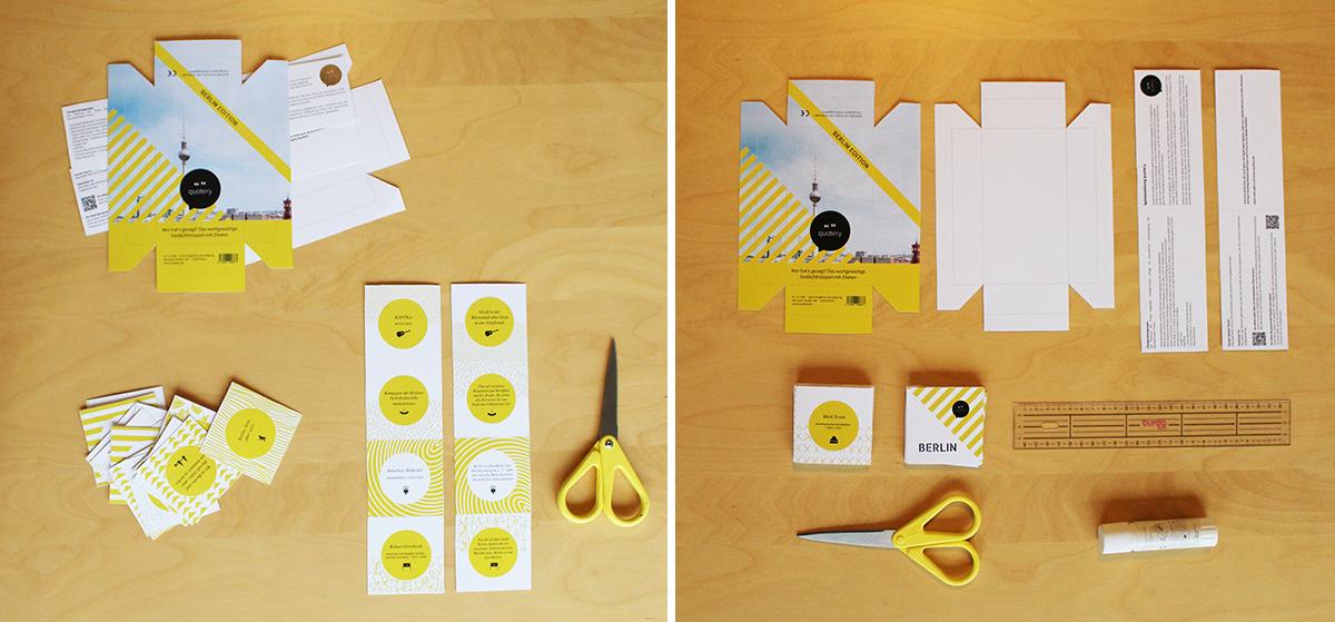 quotery Berlin DIY Kit