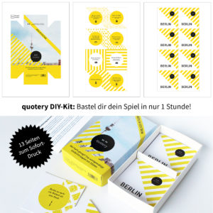 quotery Berlin DIY Kit
