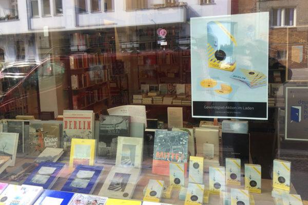 Gewinnspiel in Kooperation mit der Tucholsky-Buchhandlung