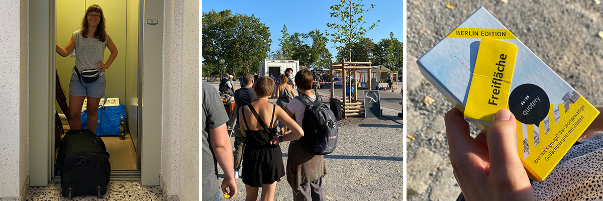 quotery's erster (Spoiler: und vermutlich letzter) Mauerpark-Flohmarkt