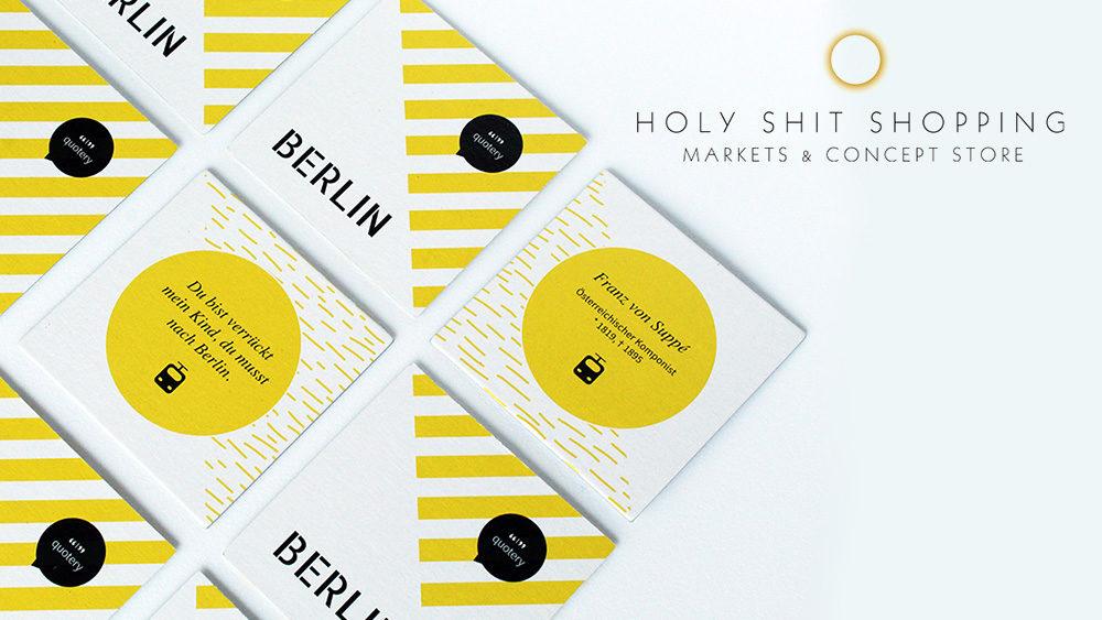quotery beim Holy Shit Shopping: Nachhaltige und toll designte Geschenkideen