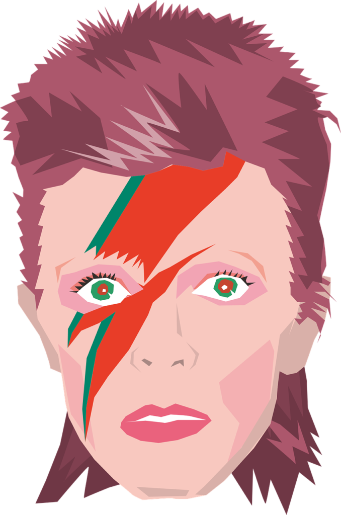 David Bowie (Bildquelle: Heisan / Pixabay)